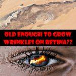 視網膜長皺紋怎麼回事?快來看新影片